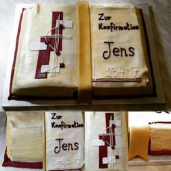 Confimration cake