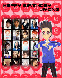 HAPPY BIRTHDAY JIYONG by ToxicRAWRS