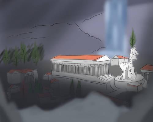 Necropolis (Doodle/concept thing idfk)