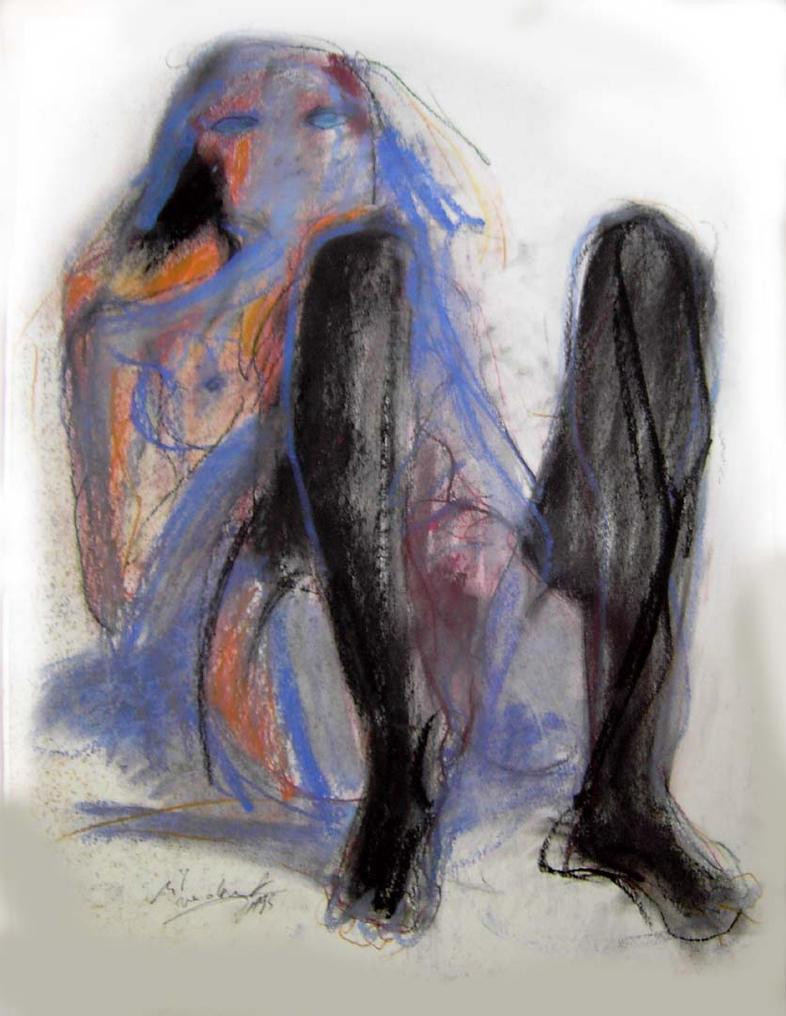 Bleu Mystique by rikvandervorst