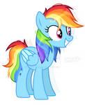 au rainbow dash