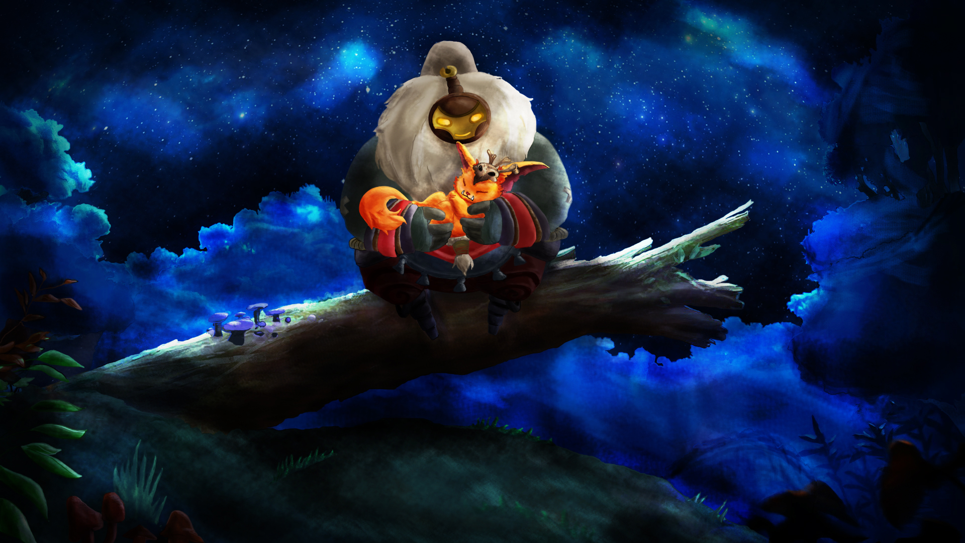 Ori And The Blind Forest Hd Wallpaper: Gnar And The Blind Forest By Hawthorne91 On DeviantArt