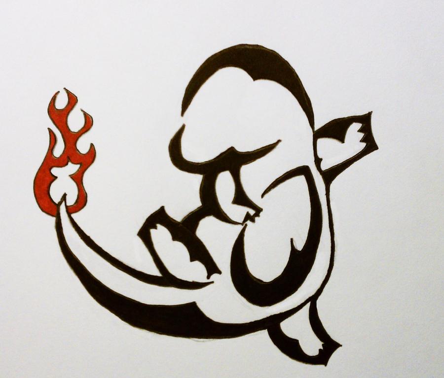 Charmander Tattoo Design by Protsko on DeviantArt