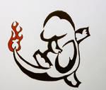 Charmander Tattoo Design