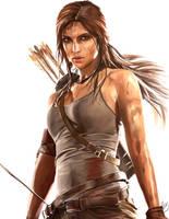 Lara Croft by JordanWindows2