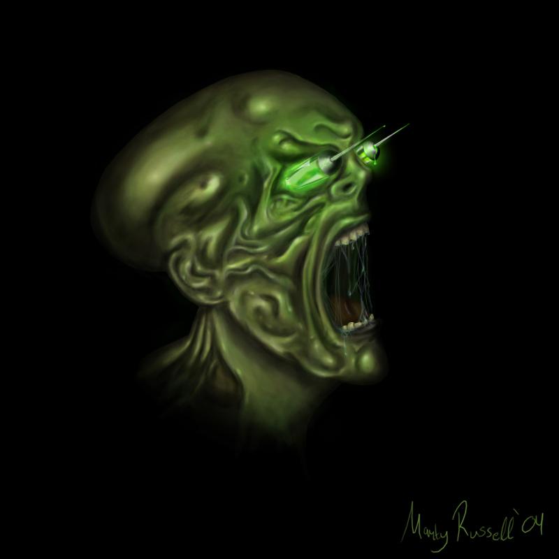 Needle Monster The Suffering by VerTigO115