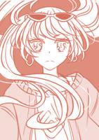 Hatsune Miku (Sand planet ver) by yueokinawa