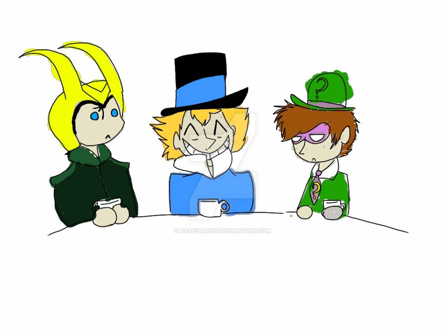 .:Tea Party:. ArtTrade by Dale2489795