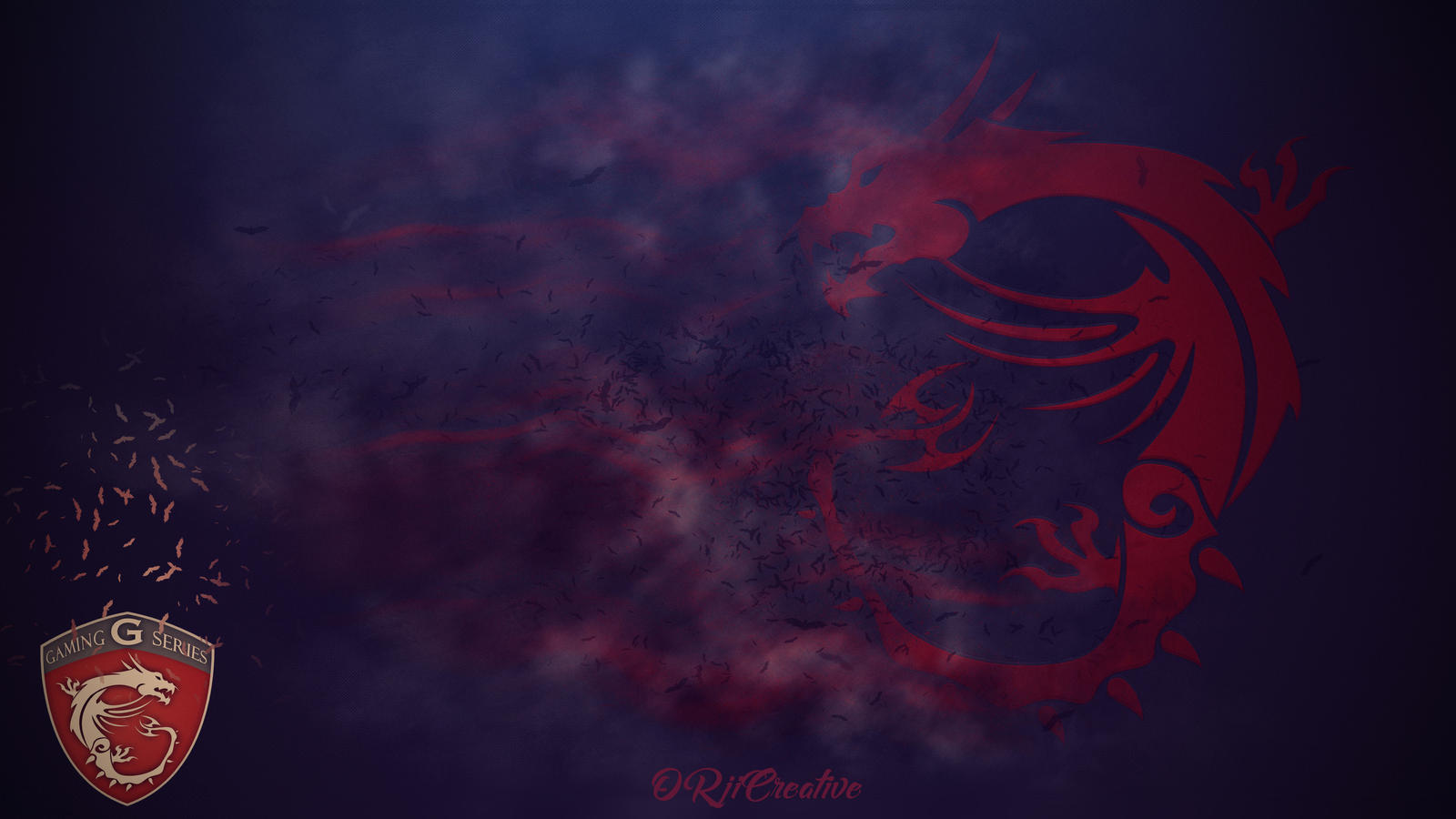 Msi Gaming Series Dragon Wallpaper By Orjicreative By
