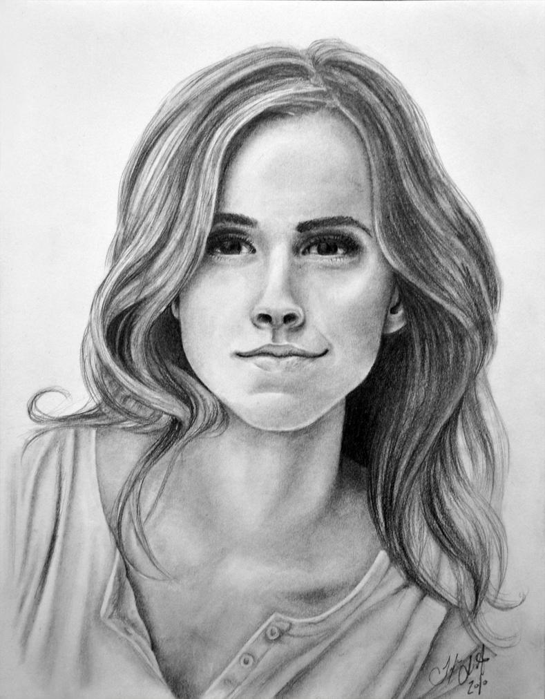 Emma Watson - Hermione Granger by Tyleen