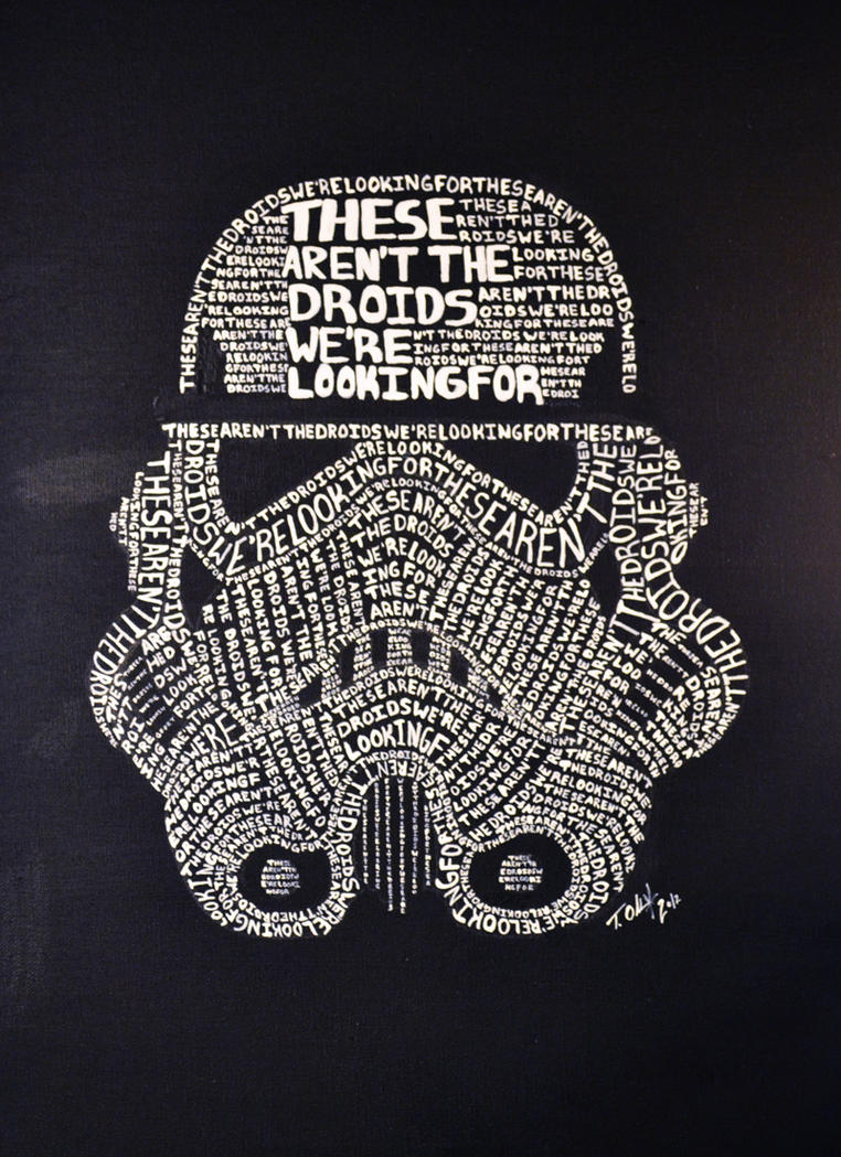 Aren T Infographics Just The: These Aren't The Droids We're Looking For By Tyleen On