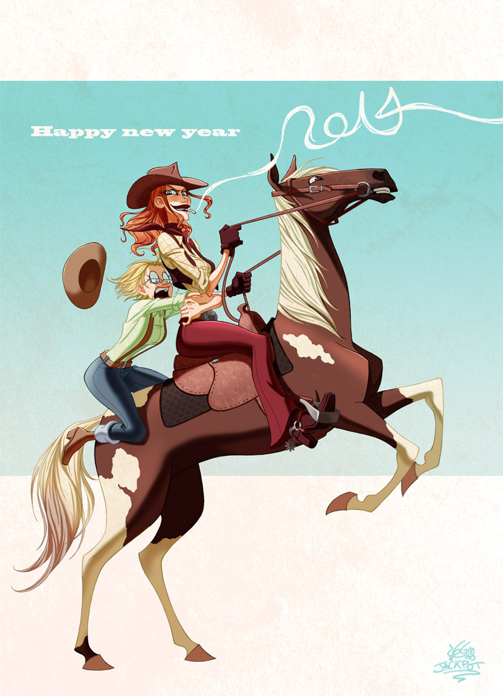 Welcome in 2014 !!! by JackPot-84