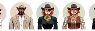 Gang cast