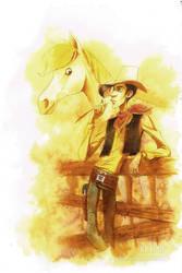 Matthieu Bonhomme's Lucky Luke by JackPot-84