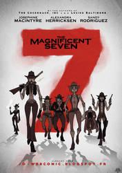 The Magnificent Seven - Jo AU by JackPot-84