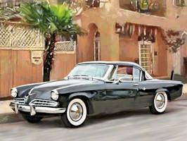 1954 Studebaker Commander Deluxe hardtop