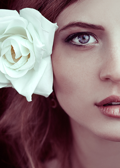 Wild rose by EbruSidarPortrait
