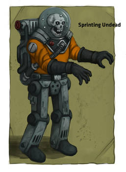 Space zombie #1