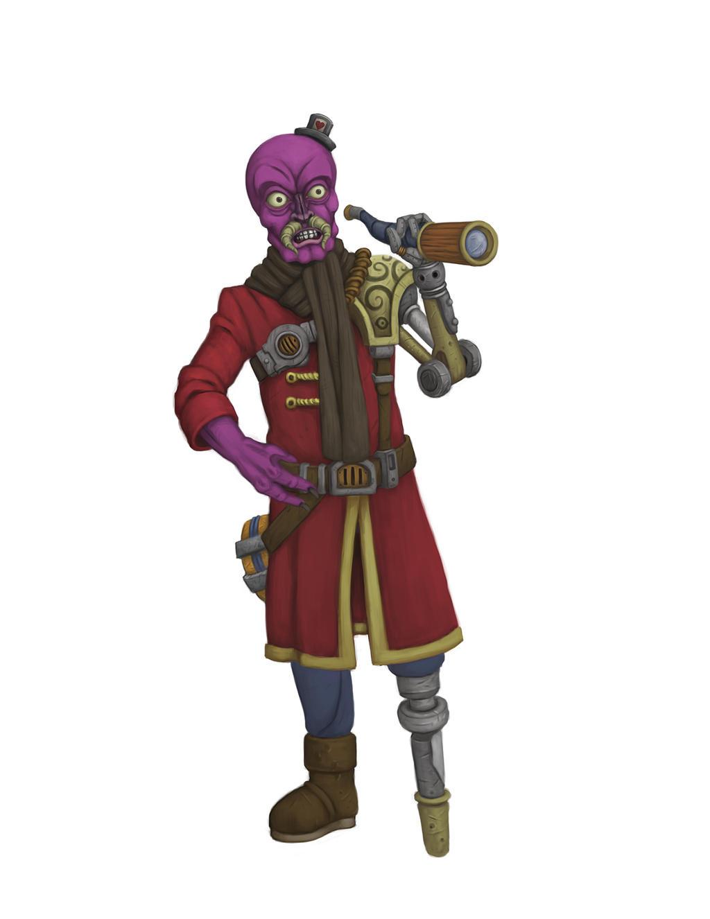 Captain Bugbeard