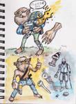 Sketchbook molemen