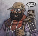Dwarf smiley Doodle
