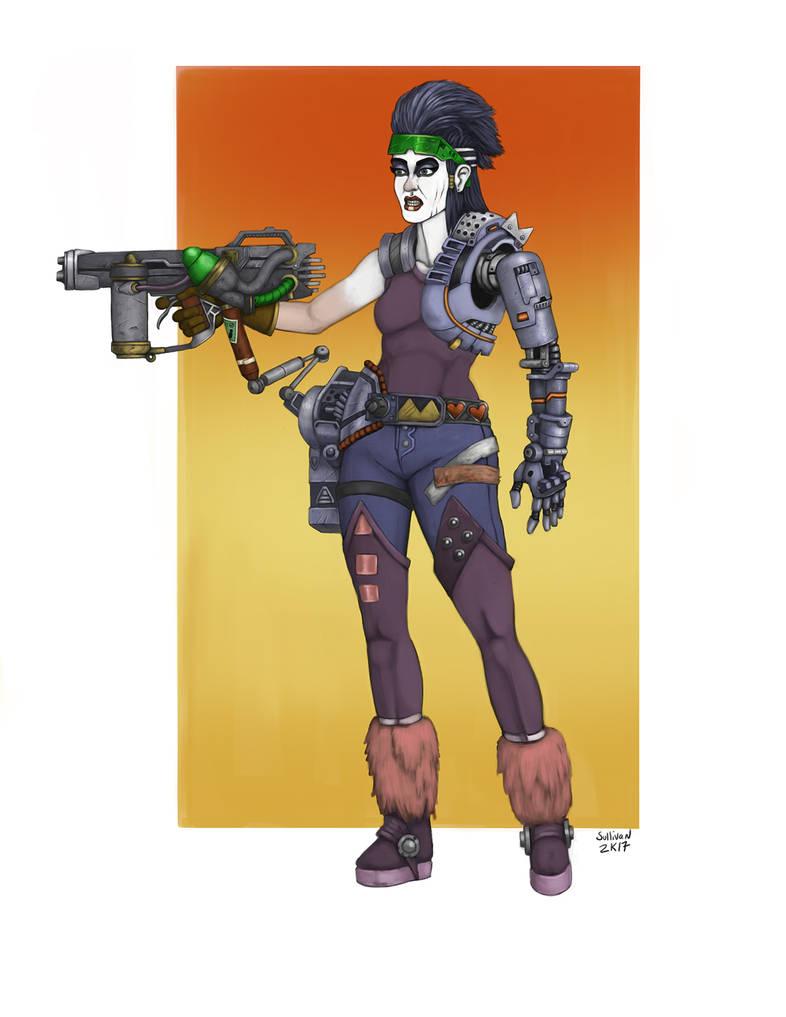 80s Cyborg final