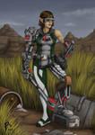 Robot lady