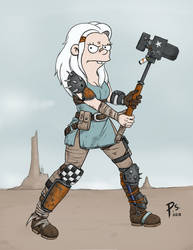 Disenchanted fallout crossover