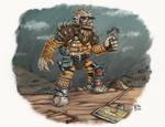 Prickly madmax dwarf dude