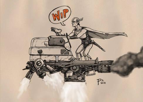 Sci Fi Gladiator WIP