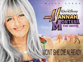 Aging Hannah Montana by Lonesamurai30