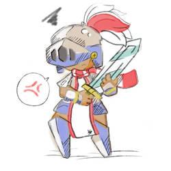 Pluma, the Knight