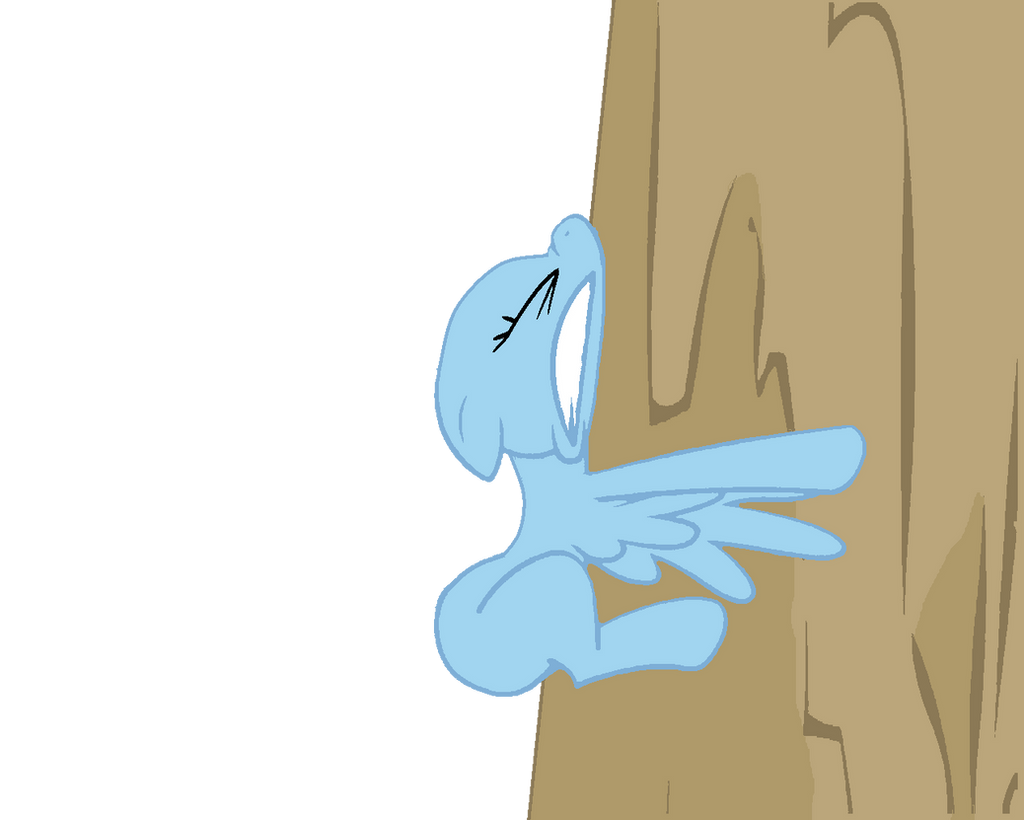 My little Pony against wall base by lessy652 on DeviantArt