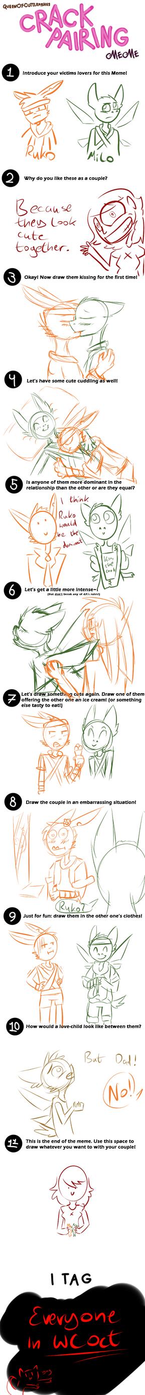 WC OTC: Crack-Pairing Meme [Ruko and Milo] by lessy652