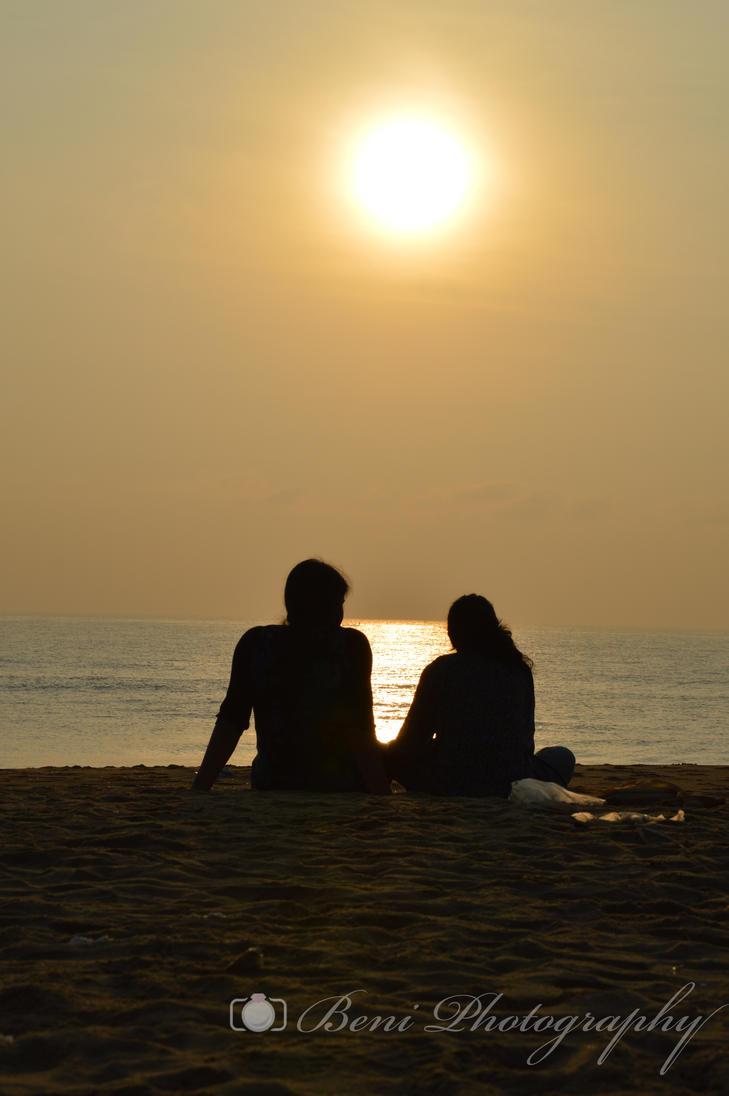 beach by arulbeni