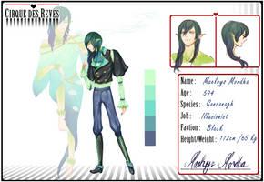 CdR: Maelrys Mordha by amashimono