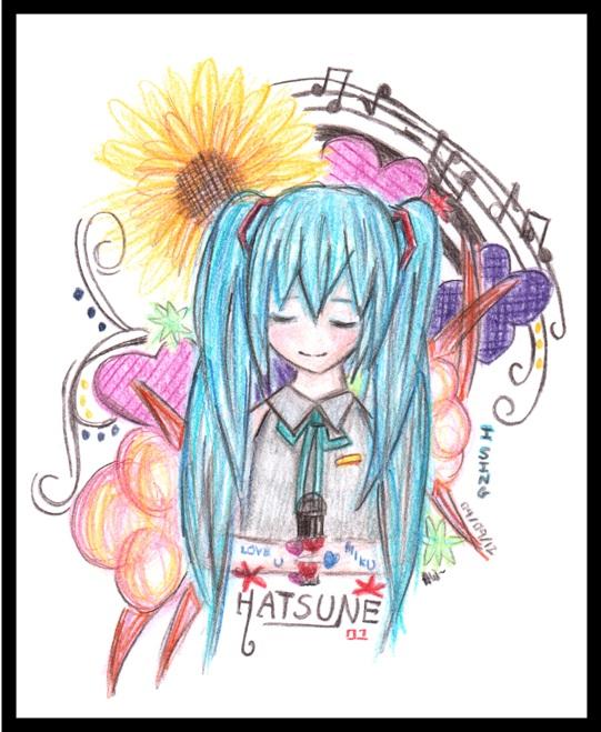 Hatsune Miku by MiyuHimekawa
