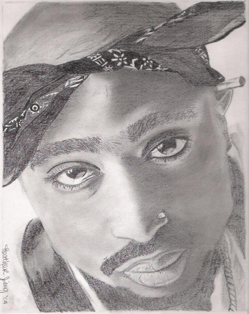 tupac by jing05