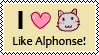 I love cats like Alphonse E. by Nauges