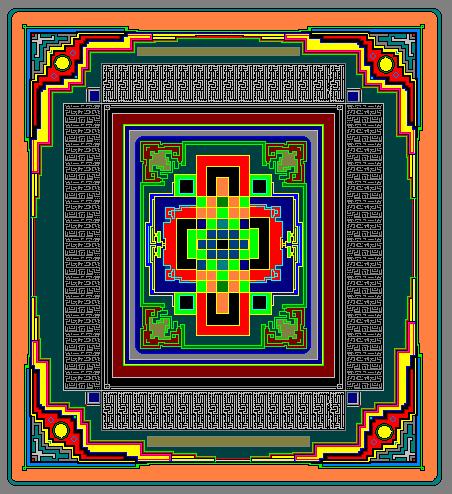 mandala by gullwingsOn