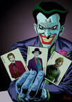 Joker Batman the animated series with cards