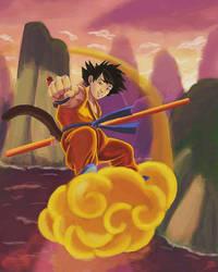 Kid Goku by Shinnh