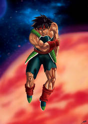 Last warrior standing Bardock by Shinnh