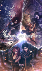 Comissioned: Shadows and Silver Eyes