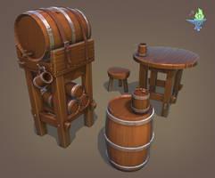 Barrel Tavern Set