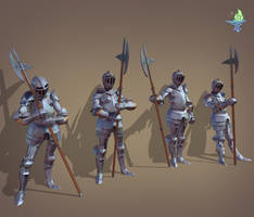 Armor Poses by BenFlex