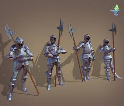 Armor Poses