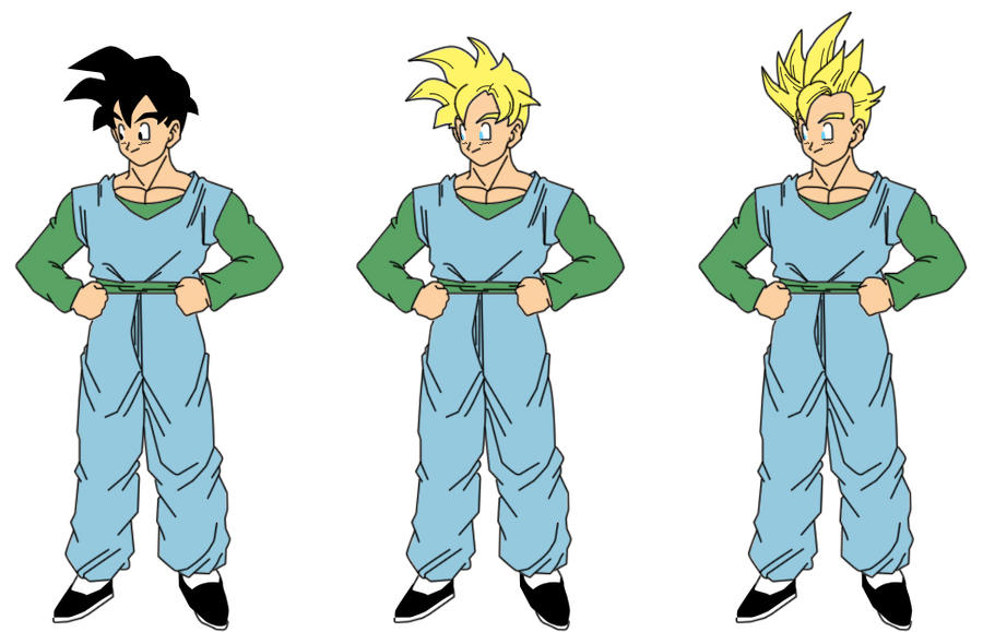 goten and gohan age difference in a relationship