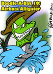 D.A.D 19: Airboat Alligator by Derede