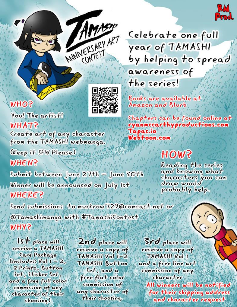 Tamashi Anniversary Art Contest by Derede